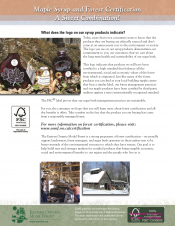 Maple Syrup and Forest Certification - A Sweet Combination