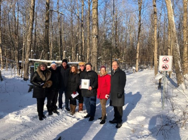 EOMF welcomes Kemptville Campus into the Forest Certification Program