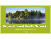 Regional Forest Health Network