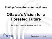 Ottawa's Vision for a Forested Future