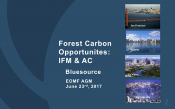 Forest Carbon Opportunites: IFM & AC
