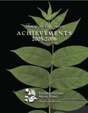 Forests for Our Future : Achievements (2005-2006)