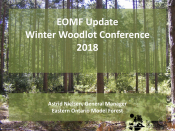 2018 Winter Woodlot Conference