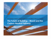 The Future of Building - Wood and the Carbon Neutral Pathway