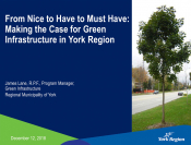 From Nice to Have to Must Have: Making the Case for Green Infrastructure in York Region