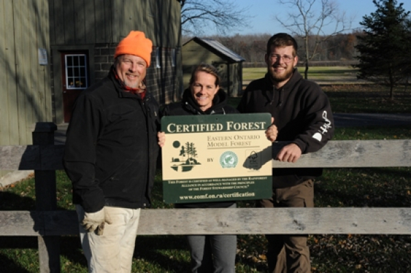 First private woodlot in Niagara Peninsula to join the EOMF - Forest Certification Program