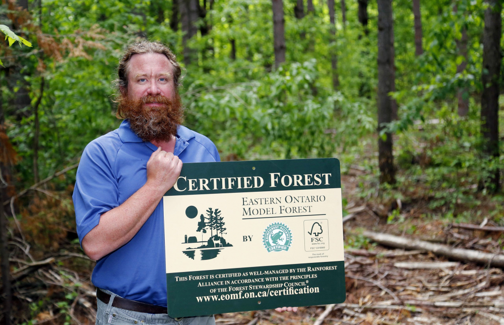 EOMF Welcomes Quinte Conservation into the Forest Certification Program
