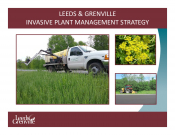 Leeds & Grenville - Invasive Plant Management Strategy